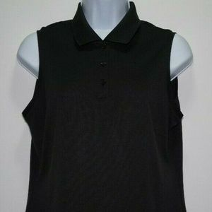 Adidas Climalite Womens Golf Sleevless Top Sz M